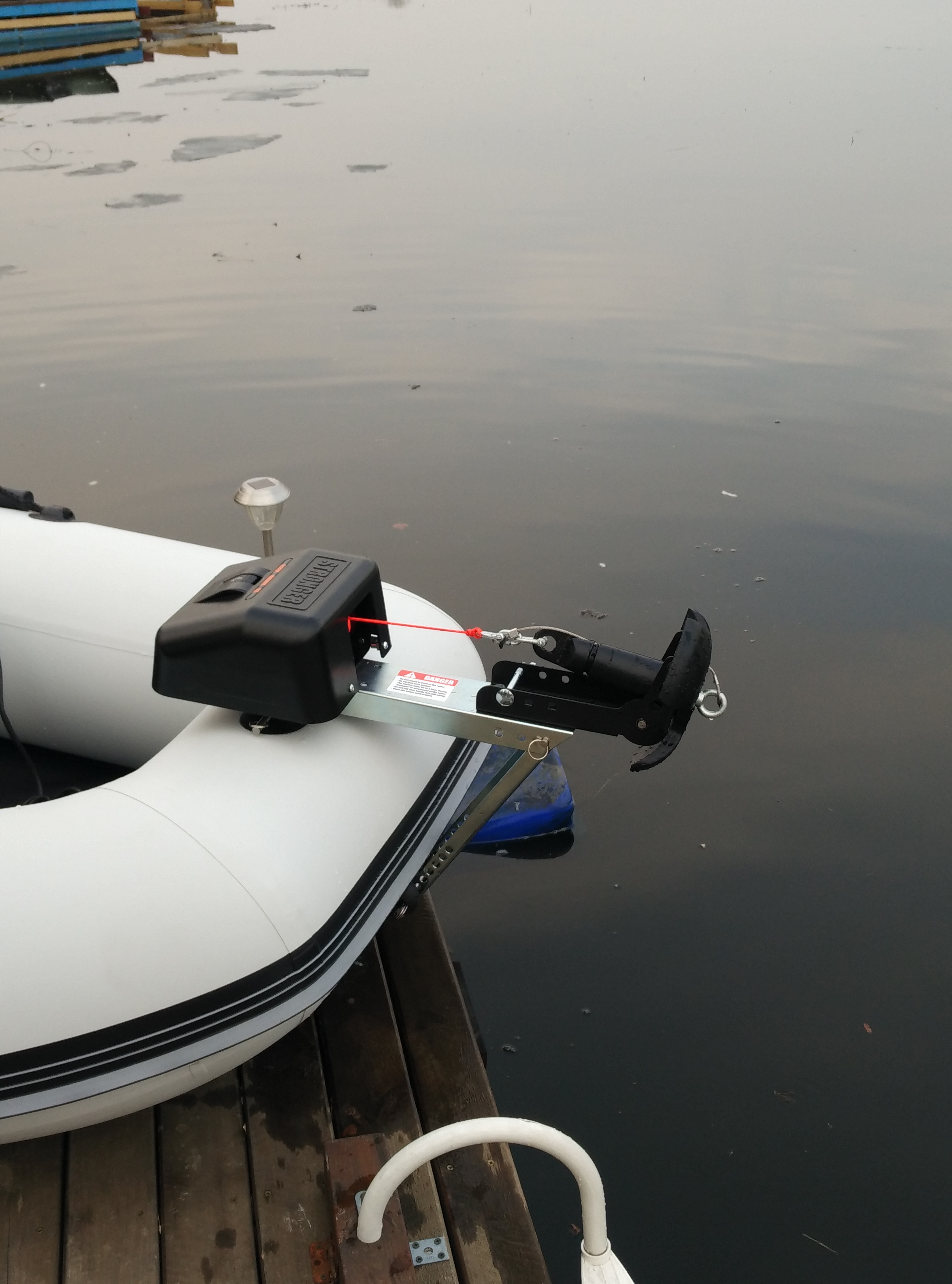 Mounting On An Inflatable Boat Stronger